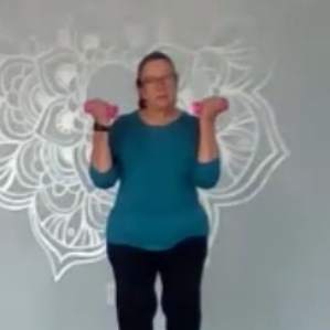 YFHA Poses: Plank, Powerful Pose, Reclined Cobbler's Pose